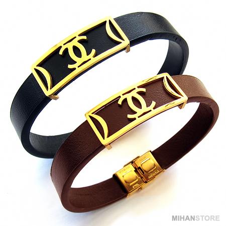 خرید ویژه دستبند چرم طرح شنل