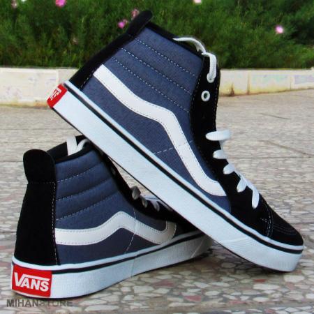 خرید ویژه کفش ساقدار دخترانه Vans طرح OldSkool