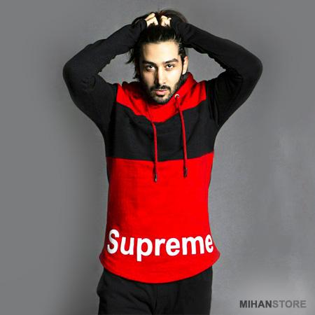 خریدهودی کلاه دار مردانه Supreme