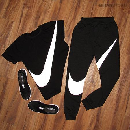 ست تی شرت و شلوار مردانه + کفش Nike