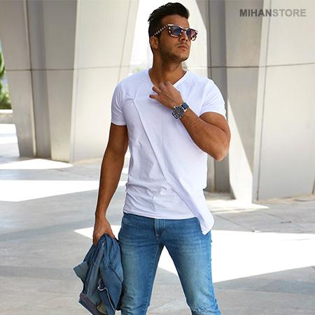 تی شرت لانگ مردانه مدل Smith